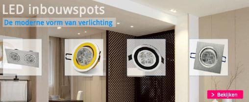 Pretmetled - LED Inbouwspots