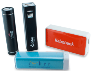 Usbstick-producent - Powerbanks bedrukken